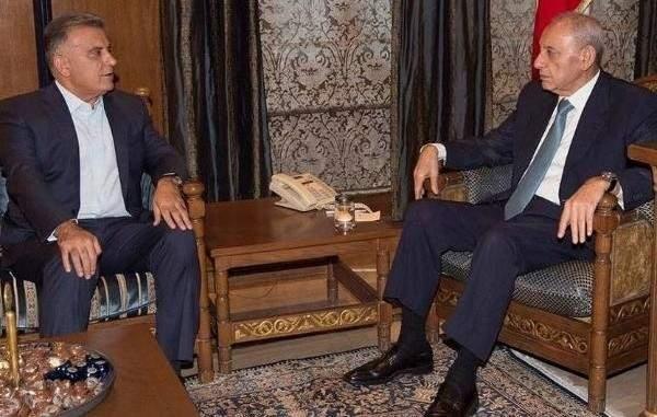 الرئيس بري يلتقي اللواء إبراهيم في عين التينة