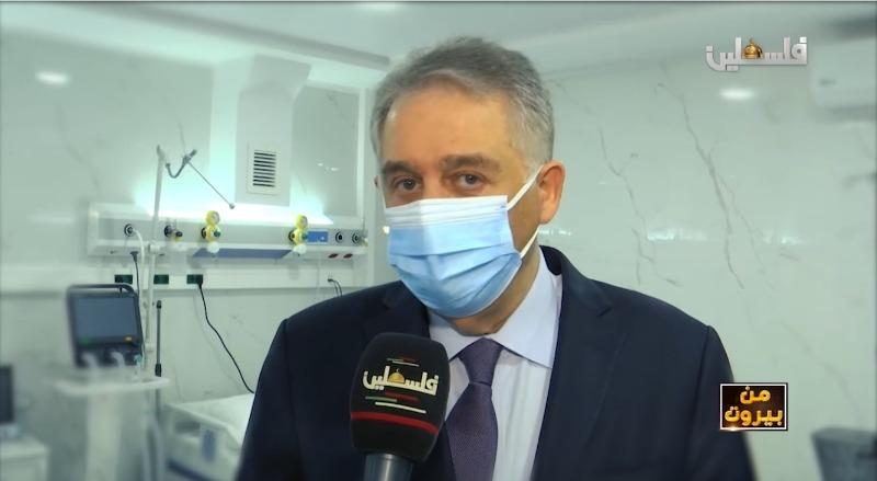 """فيديو - الإعلامي هيثم زعيتر و""""توفير العلاج لأبناء الشعب الفلسطيني في لبنان بمُواجهة كورونا"""" 19-3-2021"""