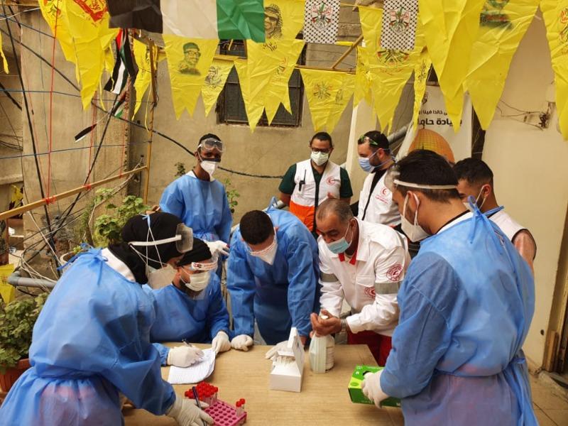 """وحدة """"الكورونا"""" في """"مستشفى الهمشري"""" مجدداً بمخيمات بيروت"""