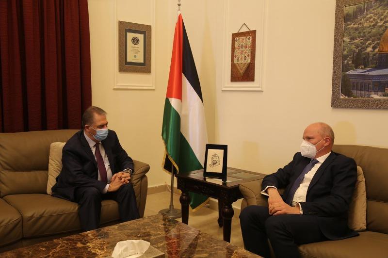 السفير دبور يستقبل سفير ألمانيا في لبنان