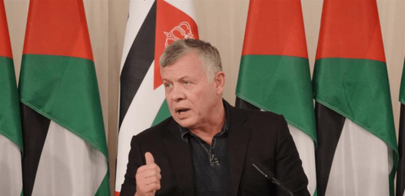 """دعم عربي ودولي """"لافت"""" لملك الأردن"""