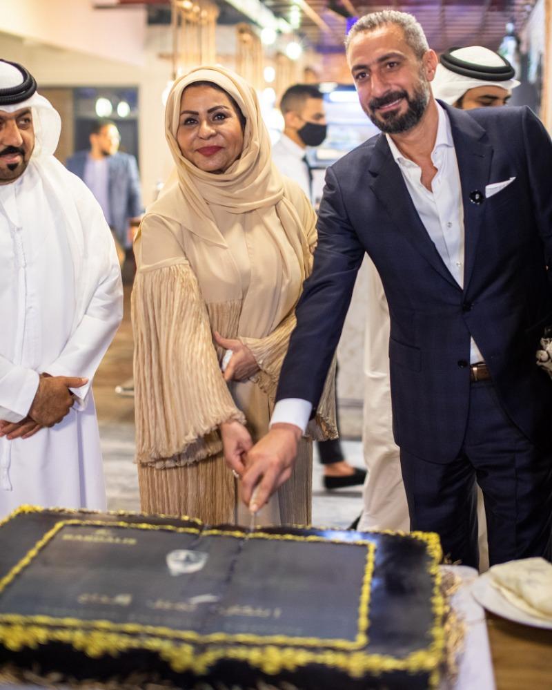 أجواء فنية وإعلامية بمناسبة افتتاح مطعم الشيف بردليس في دبي