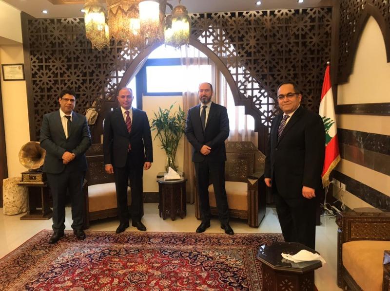 السفير التونسي زار المحافظ ضو في مدينة صيدا: نؤكد على التقارب الكبير بين الشعبين ونتطلع للتعاون في شتى المجالات