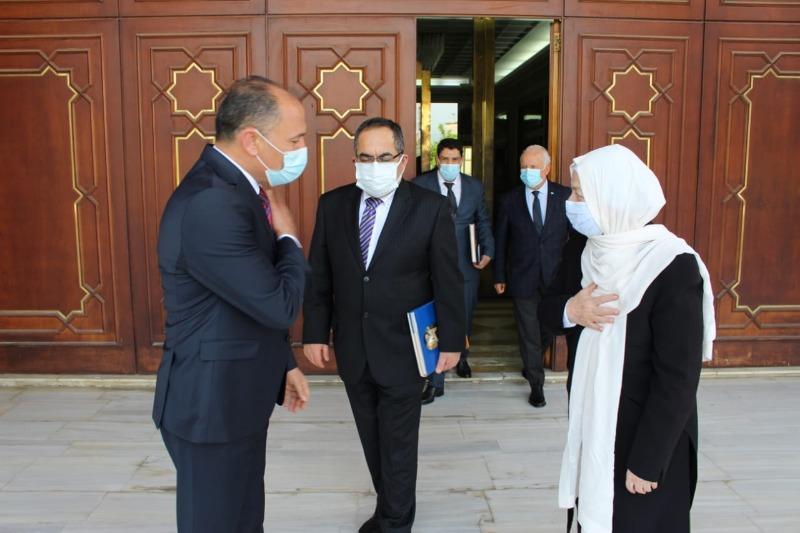 بهية الحريري التقت سفير تونس بوراوي الإمام بحضور علي العبد الله