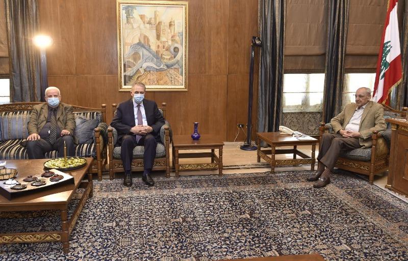 الرئيس بري استقبل السفير دبور وأبو العردات