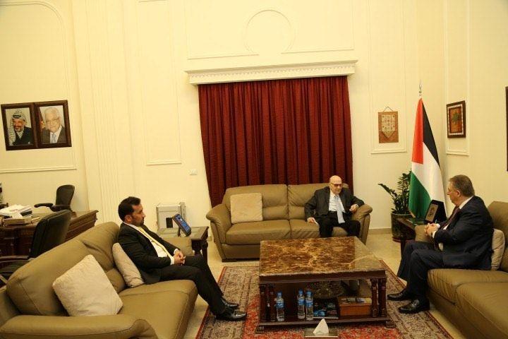 السفير دبور بحث والصلح والسبعاوي انتهاكات الاحتلال
