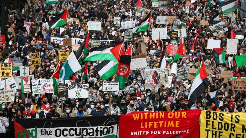 مؤسسات فلسطينية وعربية وإسلامية عاملة في الولايات المتحدة تنظم مليونية حاشدة اليوم بالعاصمة واشنطن