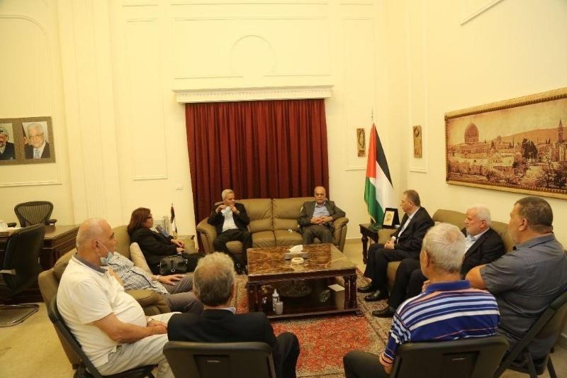 """السفير دبور يستقبل وفداً من """"حزب طليعة لبنان العربي الاشتراكي"""""""