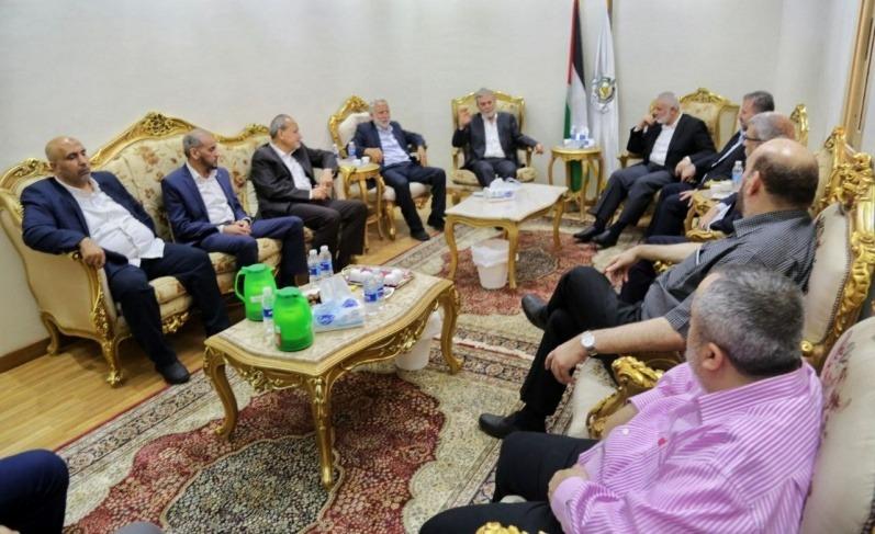 """تفاصيل لقاء قيادة """"حماس"""" و""""الجهاد"""" في القاهرة"""