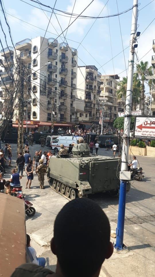 الجيش اللبناني يعلن 10 اصابات في صفوفه بجبل محسن.. ويدفع  بتعزيزات الى منطقة