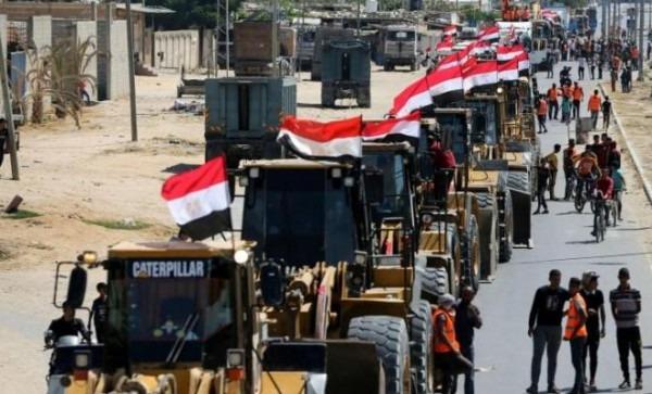 وفد هندسي مصري يصل قطاع غزة اليوم