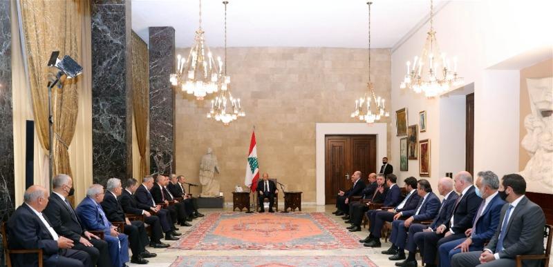 """تكتل """"لبنان القوي"""" لم يسمّ أحداً لرئاسة الحكومة"""