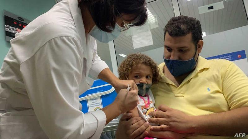 كوبا أول دولة في العالم تلقح الأطفال فوق سن العامين ضد كورونا