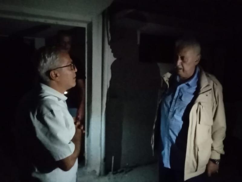 اللواء زيداني قدم التعازي لمسؤول الشؤون البلدية والاختيارية لحركة امل في اقليم جبل عامل الحاج محمد حرقوص بوفاة والدته