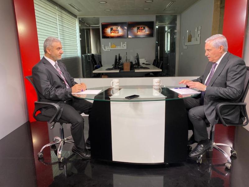 """فيديو - الوزير مصطفى بيرم ضيف هيثم زعيتر حول """"حقوق العمل للاجئين الفلسطينيين"""" 17-09-2021"""