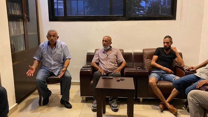 النائب سعد استقبل وفدا من تعمير عين الحلوة، وطالب بالتعويض عن الاضرار الناجمة عن الاشتباكات الاخيرة في المخيم