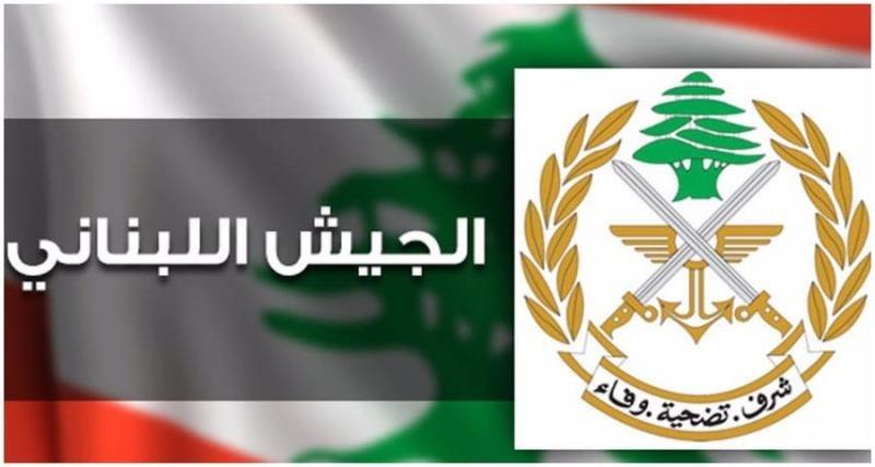 الجيش: تعرض دورية إلى إطلاق نار خلال عملية توقيف أحد المطلوبين في الشراونة